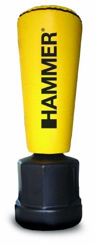 HAMMER Stand-Boxsack Premium Impact Punch, gelb, 55x162/177/192 cm - 1