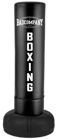 Heavy Duty Standboxsack 170x37cm - Freestanding Punching Bag black BCA-71 - 1