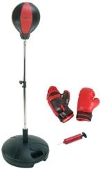 HUDORA Punchingball mit Boxhandschuhen u. Pumpe - 1